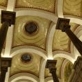 coupoles de l'escalier d'honneur